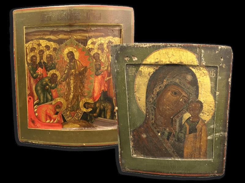 Иконы на дереве продать в Киеве