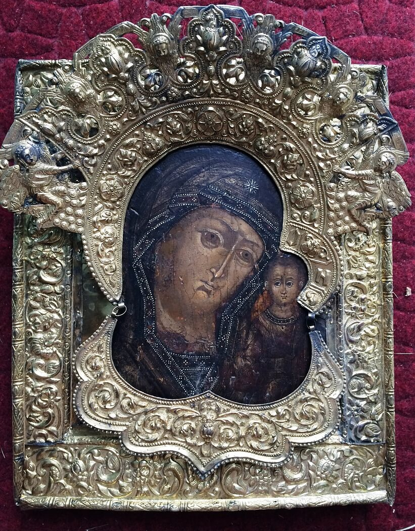 Продать серебряную икону в Киеве