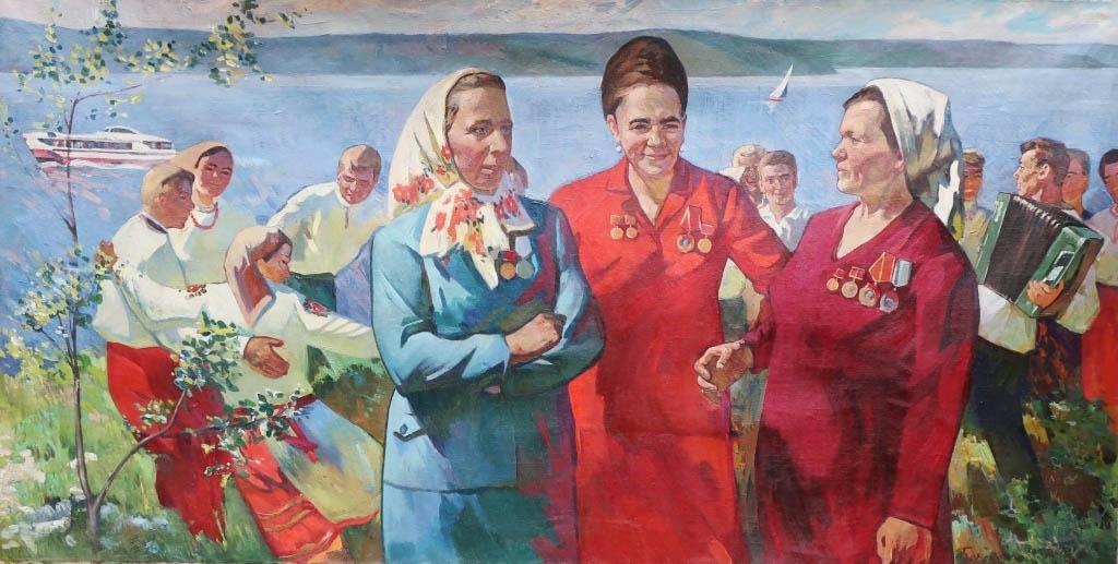 Продать советскую картину в Киеве